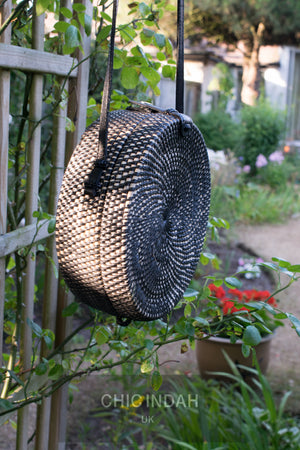 Strawbag - Summer Accessoiries - Rattan Sling bag - Basket Bag