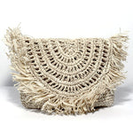 The Chic Raffia Clutch
