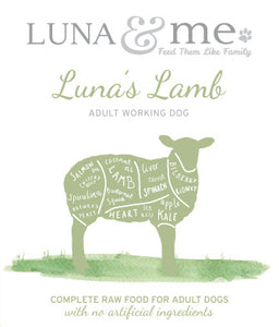 Adult Luna's Lamb Patties