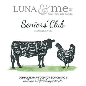 SuperBlends Seniors' Club Patties