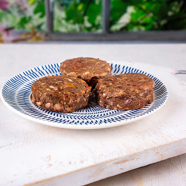 SuperBlends Delicious Beef & Venison Patties