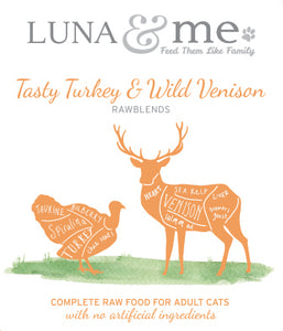 RawBlends Tasty Turkey & Wild Venison