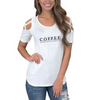 COFFEE Shoulder T-shirts