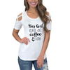 Coffee And Faith Shoulder T-shirts