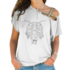 Creepy Cute Bat Cross Shoulder T-shirts
