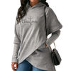 Christmas with Faith Cross Long Sweatshirts