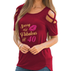 Fabulous At 40 Shoulder T-shirts