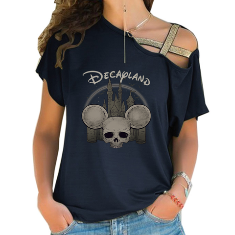 Decayland Cross Shoulder T-shirts