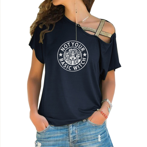 Basic Witch Cross Shoulder T-shirt