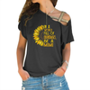 Be A Mimi Cross Shoulder T-shirts