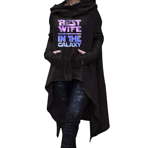Best Wife In The Galaxy Long Hoodies