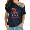 Harry Christmas Cross Shoulder T-shirts