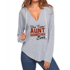 Best Aunt & Godmother V-neck Hoodies