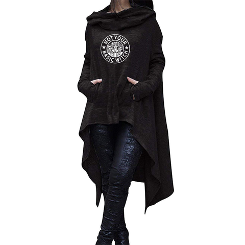 Basic Witch Long Hoodies