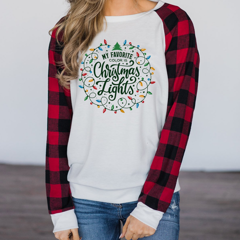 Christmas Lights Long Sleeves