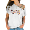 Color Is Fall Cross Shoulder T-shirts