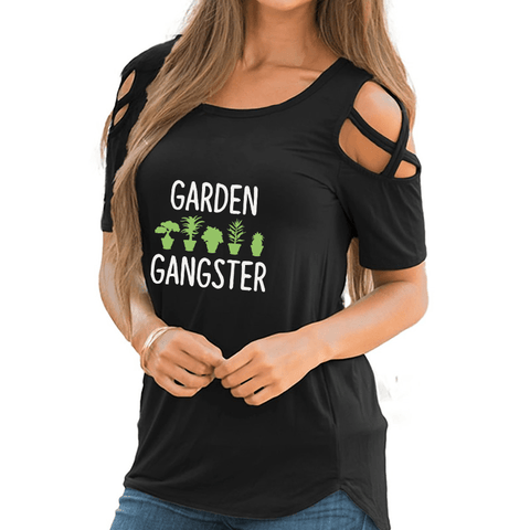 Garden Gangster Shoulder T-shirt