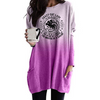 Crazy Cat Lady Long Sleeves Gradient