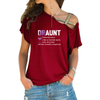 Draunt Cross Shoulder T-shirts