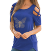 Christian Butterfly Shoulder T-shirts