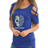 Diabetes Awareness Shoulder T-shirts