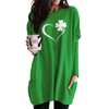 Clover Heart Long Sleeves Gradient