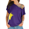 Detective Pikachu Cross Shoulder T-shirt