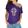 Fell In Love 1 Cross Shoulder T-shirts