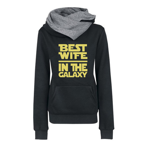 Best Wife In The Galaxy Hoodies
