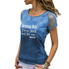 Arizona Girl Cut Loose Shoulder T-shirt