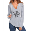 All American Girl V-neck Hoodies