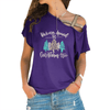 The Christmas Tree Cross Shoulder T-shirts