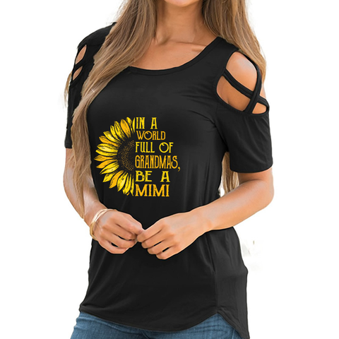 Be A Mimi Shoulder T-shirts