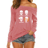 Four Seasons Off Shoulder Long Sleeves
