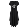 Cute Heart Treble Clef Pocket Dresses