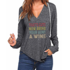 Bring Your Aunt A Wine V-neck Hoodies