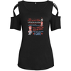 I Will Teach Because I Care Shoulder T-shirts