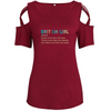 British Girl Shoulder T-shirts