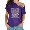 I'm A Spoiled Wife Cross Shoulder T-shirts