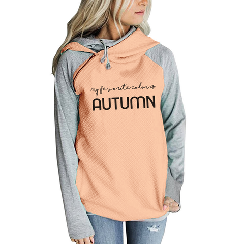 Color Is Autumn Hoodies