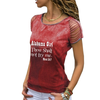 Alabama Girl Cut Loose Shoulder T-shirt