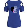 Black Classy And A Bit Sassy Shoulder T-shirts