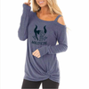 Be A Maleficent Shirt with Shoulder Out
