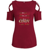 Be A Cindy Lou-Who Shoulder T-shirts