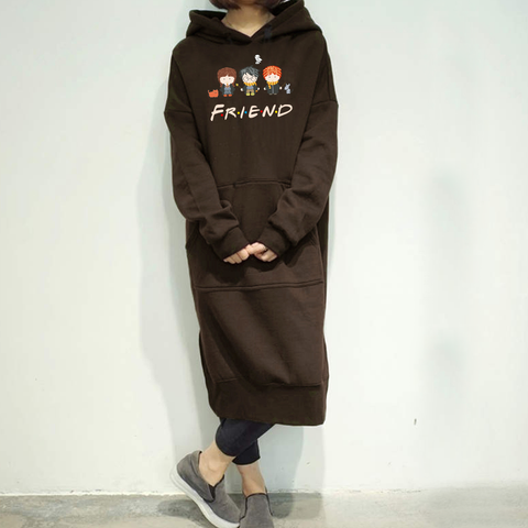 Friends Long Hoodies