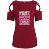 Being A Mom Grandma And Great Grandma Shoulder T-shirts