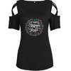 Christmas Lights Is Jesus Shoulder T-shirts
