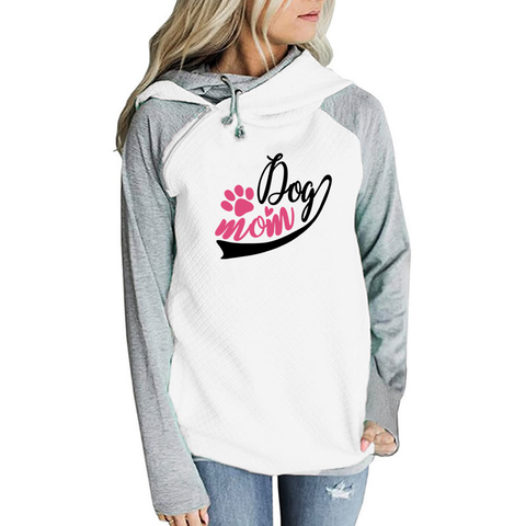 Dog Mom Hoodies
