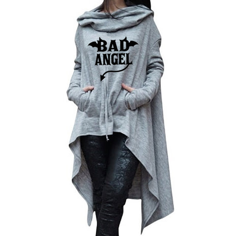 Bad Angel Hoodies