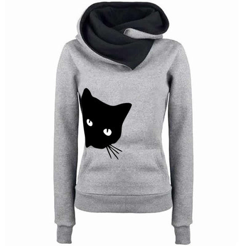 Cat Face Hoodies